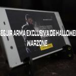 Cómo conseguir el arma exclusiva de Halloween en Warzone