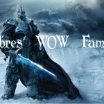 Nombres de WOW famosos